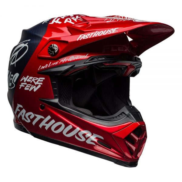 1548940923-08351800.jpg-Bell MX 2019 Moto-9 Flex Adult Helmet (Fasthouse Day In The Dirt Red/Navy)
