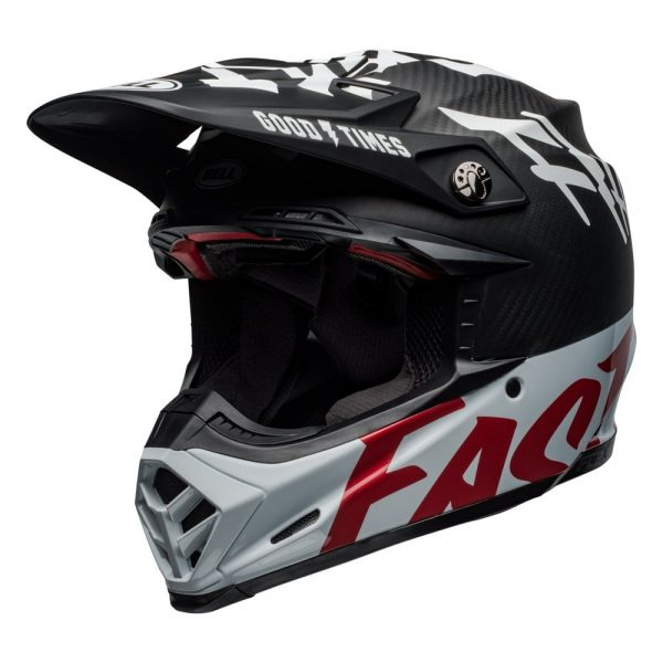 1548940928-86635400.jpg-Bell MX 2019 Moto-9 Flex Adult Helmet (Fasthouse WRWF Black/White/Red)
