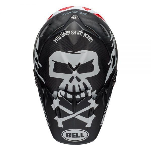 1548940930-60152000.jpg-Bell MX 2019 Moto-9 Flex Adult Helmet (Fasthouse WRWF Black/White/Red)
