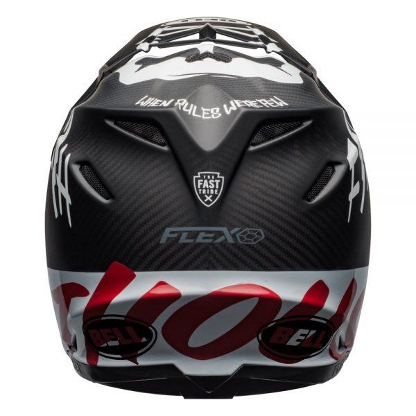 1548940932-73213300.jpg-Bell MX 2019 Moto-9 Flex Adult Helmet (Fasthouse WRWF Black/White/Red)
