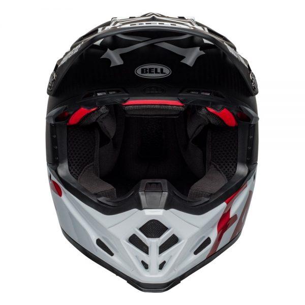 1548940939-73407800.jpg-Bell MX 2019 Moto-9 Flex Adult Helmet (Fasthouse WRWF Black/White/Red)