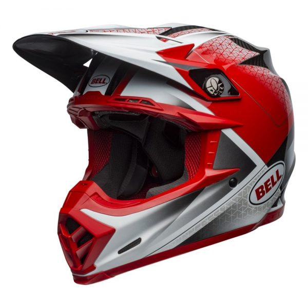 1548940962-48183500.jpg-Bell MX 2019 Moto-9 Flex Adult Helmet (Hound Red/White/Black)