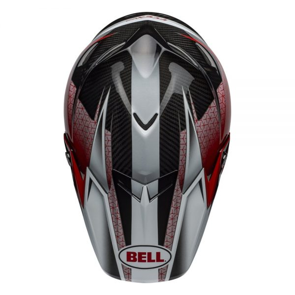 1548940964-71273200.jpg-Bell MX 2019 Moto-9 Flex Adult Helmet (Hound Red/White/Black)