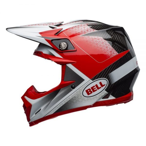 1548940969-06338100.jpg-Bell MX 2019 Moto-9 Flex Adult Helmet (Hound Red/White/Black)