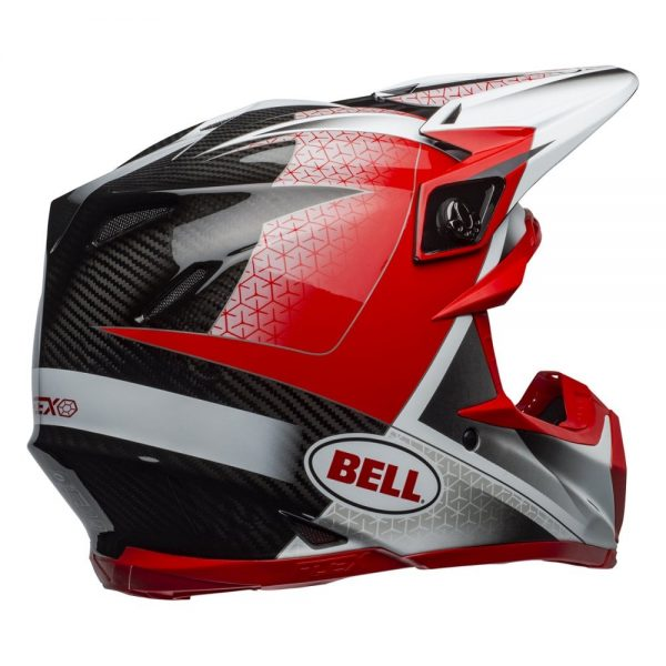 1548940974-26235000.jpg-Bell MX 2019 Moto-9 Flex Adult Helmet (Hound Red/White/Black)