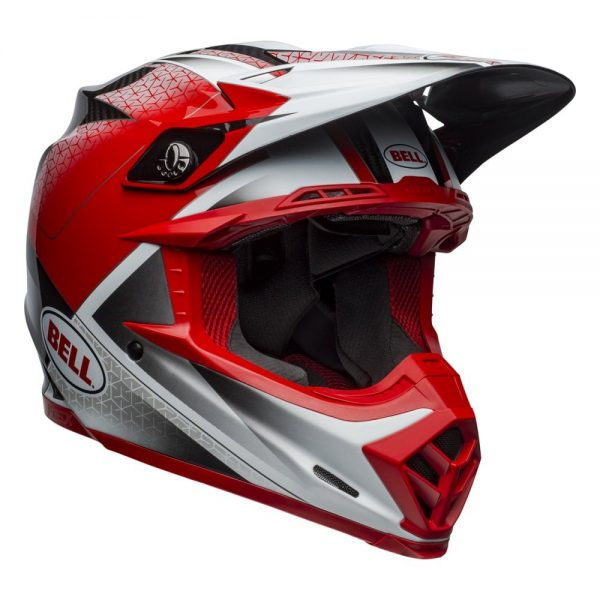 1548940976-93237600.jpg-Bell MX 2019 Moto-9 Flex Adult Helmet (Hound Red/White/Black)
