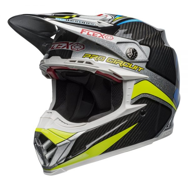 1548940981-65027300.jpg-Bell MX 2019 Moto-9 Flex Adult Helmet (Pro Circuit 19 Replica Black/Green)