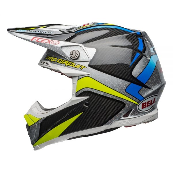 1548940986-51799800.jpg-Bell MX 2019 Moto-9 Flex Adult Helmet (Pro Circuit 19 Replica Black/Green)