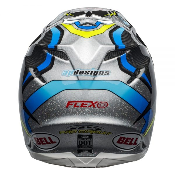 1548940988-81762400.jpg-Bell MX 2019 Moto-9 Flex Adult Helmet (Pro Circuit 19 Replica Black/Green)