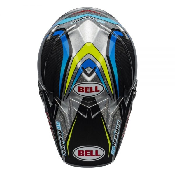 1548940990-86037000.jpg-Bell MX 2019 Moto-9 Flex Adult Helmet (Pro Circuit 19 Replica Black/Green)