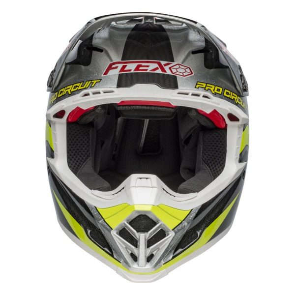 1548940992-73883500.jpg-Bell MX 2019 Moto-9 Flex Adult Helmet (Pro Circuit 19 Replica Black/Green)