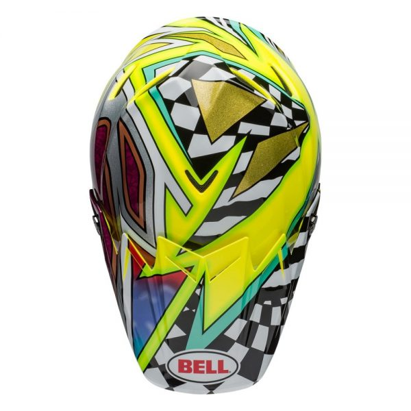 1548941003-41218700.jpg-Bell MX 2019 Moto-9 Flex Adult Helmet (Tagger Mayhem Green/Black/White)