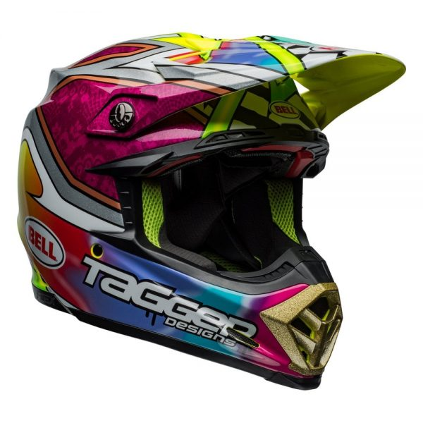 1548941014-06883200.jpg-Bell MX 2019 Moto-9 Flex Adult Helmet (Tagger Mayhem Green/Black/White)