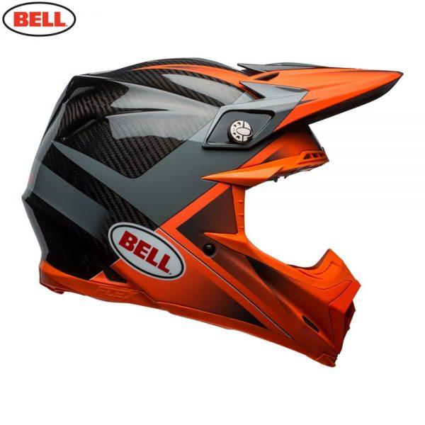 1548941037-43452500.jpg-Bell MX 2018 Moto-9 Flex Adult Helmet (Hound Orange/Charcoal)