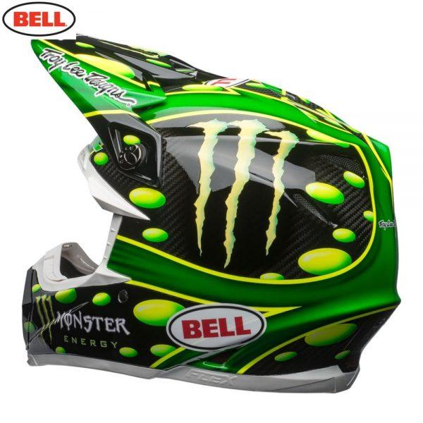 1548941069-71695200.jpg-Bell MX 2018 Moto-9 Flex Adult Helmet (Mcgrath Monster Green/Black)
