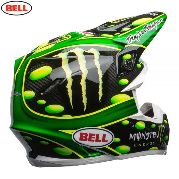 1548941073-35400700.jpg-Bell MX 2018 Moto-9 Flex Adult Helmet (Mcgrath Monster Green/Black)