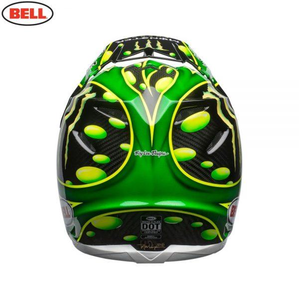 1548941075-40207700.jpg-Bell MX 2018 Moto-9 Flex Adult Helmet (Mcgrath Monster Green/Black)