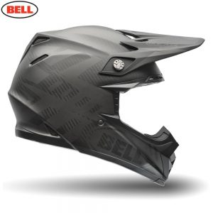 Bell MX 2018 Moto-9 Flex Adult Helmet (Syndrome Matte Black)