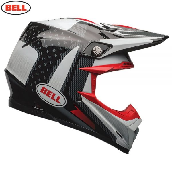 1548941083-87961300.jpg-Bell MX 2018 Moto-9 Flex Adult Helmet (Vice Black/White)