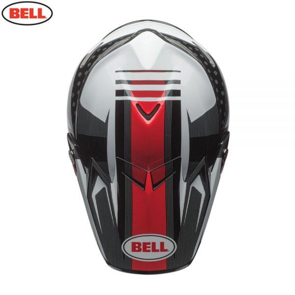 1548941087-78830300.jpg-Bell MX 2018 Moto-9 Flex Adult Helmet (Vice Black/White)