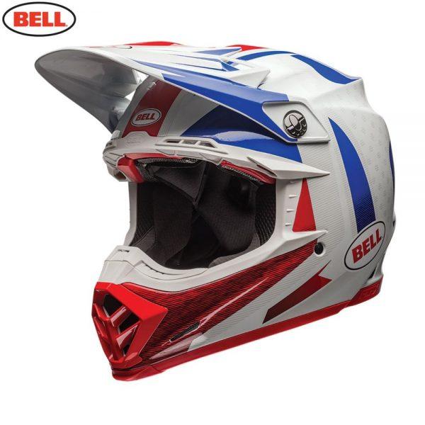 1548941091-58103200.jpg-Bell MX 2018 Moto-9 Flex Adult Helmet (Vice Blue/Red)