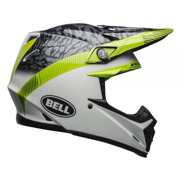 1548941136-89703200.jpg-Bell MX 2019 Moto-9 Mips Adult Helmet (Chief Black/White/Green)
