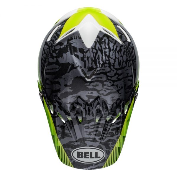 1548941141-10054800.jpg-Bell MX 2019 Moto-9 Mips Adult Helmet (Chief Black/White/Green)