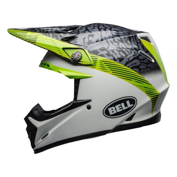 1548941145-36333700.jpg-Bell MX 2019 Moto-9 Mips Adult Helmet (Chief Black/White/Green)
