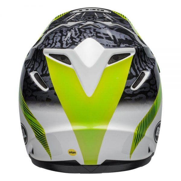 1548941149-85189000.jpg-Bell MX 2019 Moto-9 Mips Adult Helmet (Chief Black/White/Green)