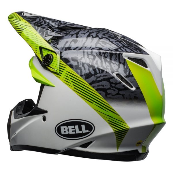 1548941152-15982900.jpg-Bell MX 2019 Moto-9 Mips Adult Helmet (Chief Black/White/Green)