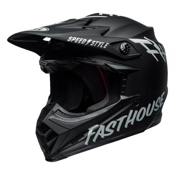 1548941156-66638600.jpg-Bell MX 2019 Moto-9 Mips Adult Helmet (Fasthouse Black/White)