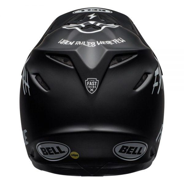 1548941160-91978500.jpg-Bell MX 2019 Moto-9 Mips Adult Helmet (Fasthouse Black/White)