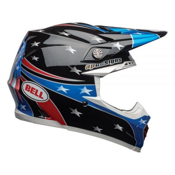 1548941171-33249600.jpg-Bell MX 2019 Moto-9 Mips Adult Helmet (Tomac Rep 19 Eagle Black/Green)