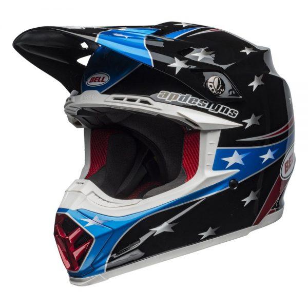 1548941173-39616100.jpg-Bell MX 2019 Moto-9 Mips Adult Helmet (Tomac Rep 19 Eagle Black/Green)