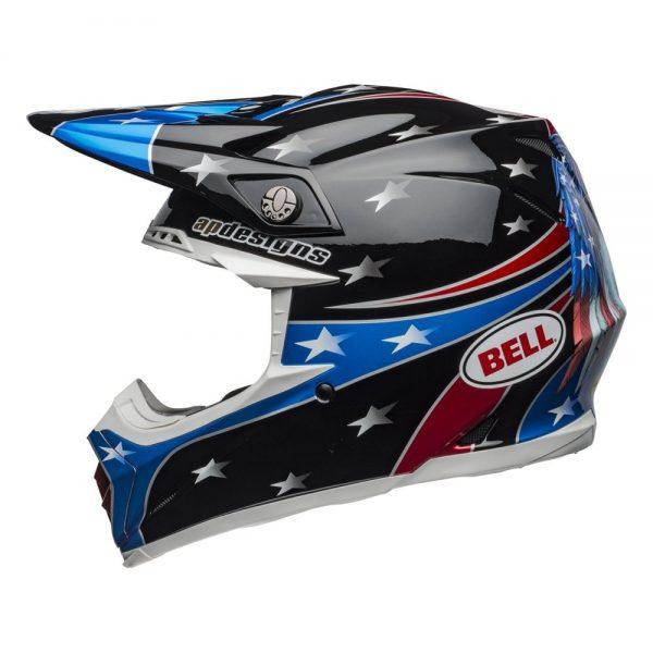 1548941179-66671300.jpg-Bell MX 2019 Moto-9 Mips Adult Helmet (Tomac Rep 19 Eagle Black/Green)