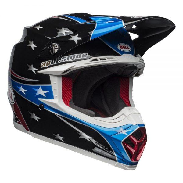 1548941181-70326500.jpg-Bell MX 2019 Moto-9 Mips Adult Helmet (Tomac Rep 19 Eagle Black/Green)