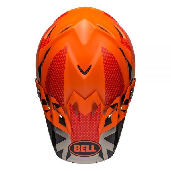 1548941194-09895400.jpg-Bell MX 2019 Moto-9 Mips Adult Helmet (Tremor Black/Orange/Chrome)