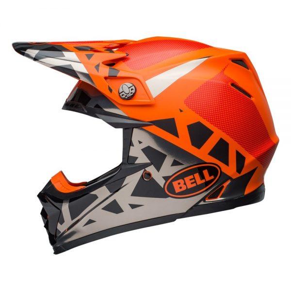 1548941196-67976500.jpg-Bell MX 2019 Moto-9 Mips Adult Helmet (Tremor Black/Orange/Chrome)