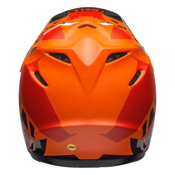 1548941199-13483900.jpg-Bell MX 2019 Moto-9 Mips Adult Helmet (Tremor Black/Orange/Chrome)