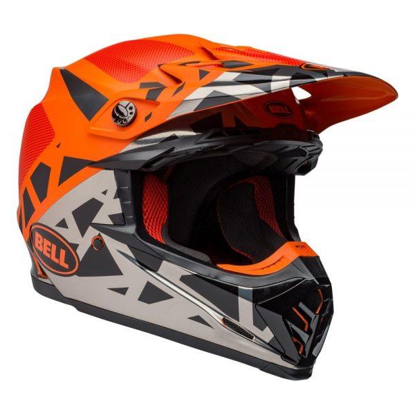 1548941203-47583900.jpg-Bell MX 2019 Moto-9 Mips Adult Helmet (Tremor Black/Orange/Chrome)