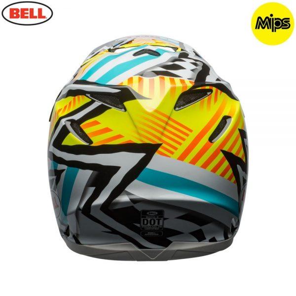 1548941244-92432900.jpg-Bell MX 2018 Moto-9 Mips Adult Helmet (Tagger Yellow/Blue/White)