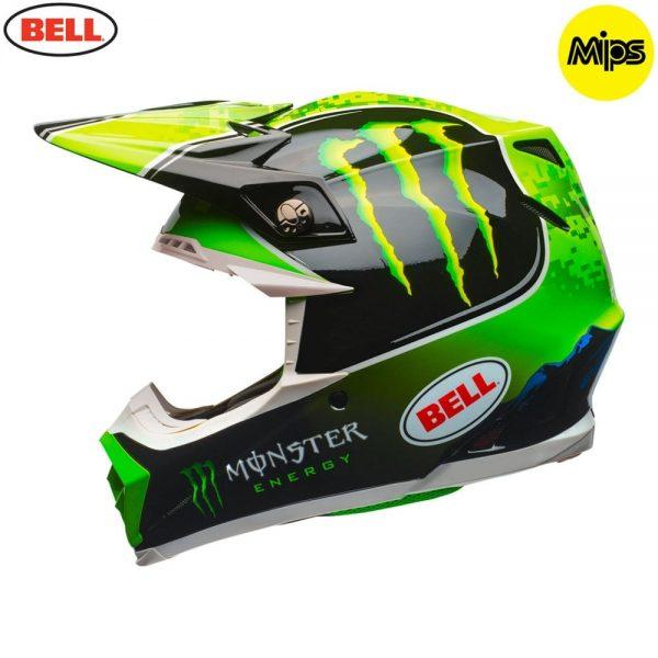 1548941260-16517100.jpg-Bell MX 2018 Moto-9 Mips Adult Helmet (Tomac Monster Replica)
