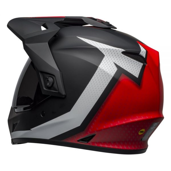 1548941287-53607200.jpg-Bell MX 2019 MX-9 Adventure Mips Adult Helmet (Switchback Matte Black/Red/White)