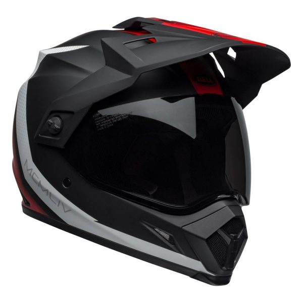 1548941293-03278700.jpg-Bell MX 2019 MX-9 Adventure Mips Adult Helmet (Switchback Matte Black/Red/White)