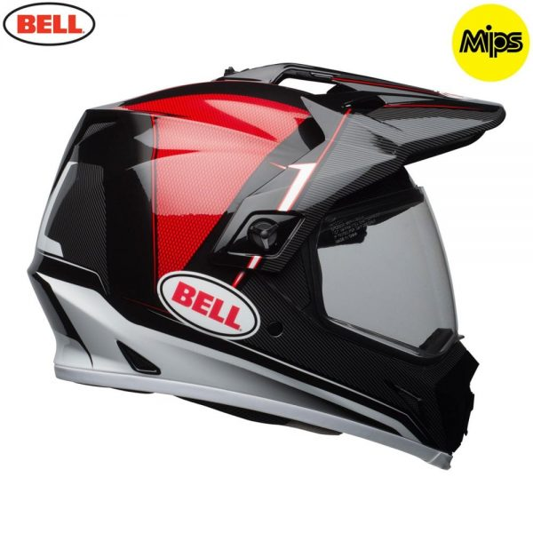 1548941331-13383500.jpg-Bell MX 2018 MX-9 Adventure Mips Adult Helmet (Berm Black/Red)