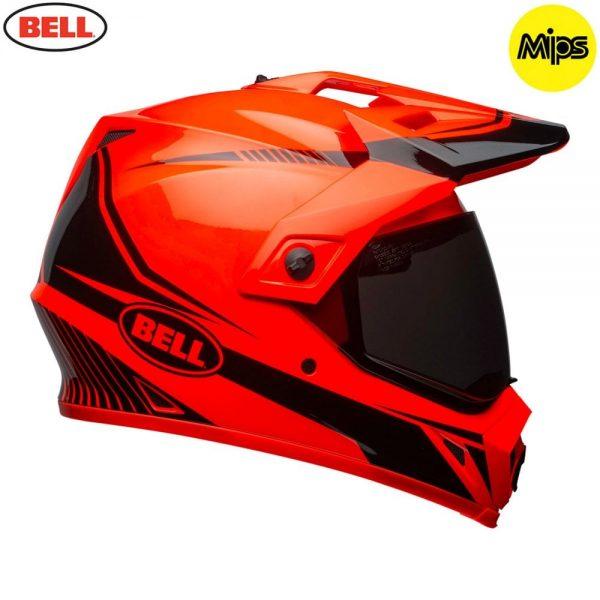 1548941371-40735600.jpg-Bell MX 2018 MX-9 Adventure Mips Adult Helmet (Torch Orange/Black)