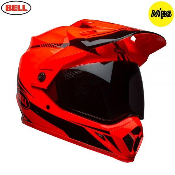 1548941373-65439100.jpg-Bell MX 2018 MX-9 Adventure Mips Adult Helmet (Torch Orange/Black)