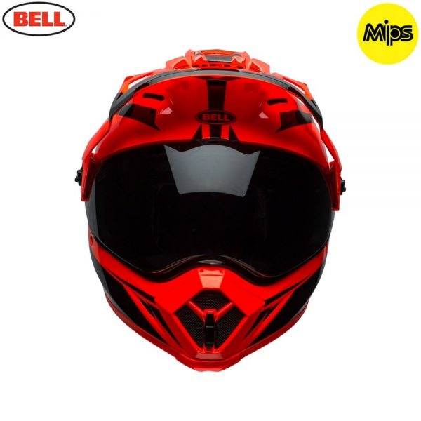 1548941375-76865000.jpg-Bell MX 2018 MX-9 Adventure Mips Adult Helmet (Torch Orange/Black)