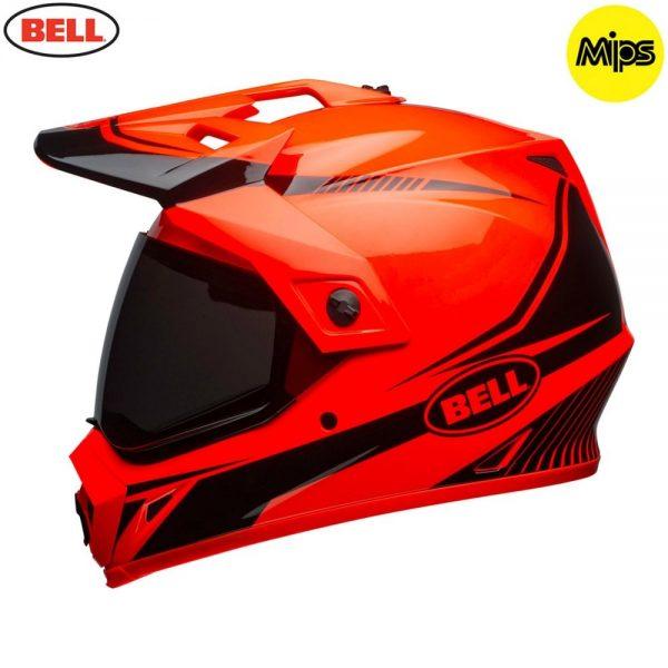 1548941380-10882000.jpg-Bell MX 2018 MX-9 Adventure Mips Adult Helmet (Torch Orange/Black)