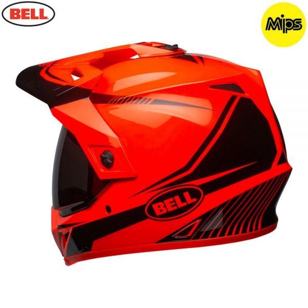 1548941382-40095600.jpg-Bell MX 2018 MX-9 Adventure Mips Adult Helmet (Torch Orange/Black)
